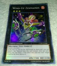 Yugioh! - LP - Wind-Up Zenmaines - CT09-EN008 - Super Rare - Limited Edition