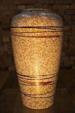 50s GERMAN CERAMIC BODENVASE ART POTTERY Mid Century Vintage Vase Rockabilly