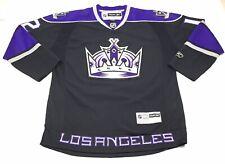 Reebok Vintage NHL LA Kings Stitched #12 Jersey Mens Black Size Large