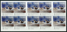 Norway 2019 MNH National Birds Europa Dipper Dippers 10v S/A Booklet Stamps