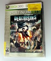 Dead Rising Platinum Hits (Microsoft Xbox 360, 2006) Tested & Works