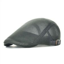 Ivy Flat Mesh Breathable Cap Cabbie Newsboy Style Gatsby Adjustable Beret Hat