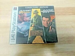 Electronic Arts Collectors' Edition 007 Racing & Tomorrow Never Dies & MOH NEW !