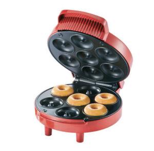 American style Silvercrest Doughnut Maker  Red   New!!!!🇺🇲✅🆕🔥♨️!!!