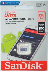 Speicherkarte SanDisk 128 GB MICRO SD XC microSD Karte für Nintendo Switch Lite