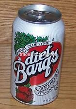 NM 1999 USA Coca-Cola DIET BARQ'S ROOT BEER 12oz 355mL EMPTY BOTTOM DRAINED CAN