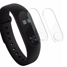 4Pcs TPU Screen Protector Film For Xiaomi Mi Band 2 Smart Wristband With Wipes