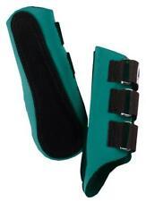 Roma Neoprene Splint Cushion Horse Boots Hunter Green Size Full (Horse)