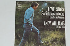 ANDY WILLIAMS -Schicksalsmelodie (Where Do I Begin) (Theme From Love Story)- 7""