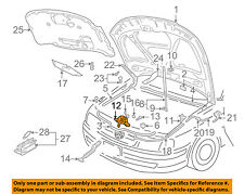 VW VOLKSWAGEN OEM 01-05 Passat Hood-Lock Latch 3B0823509AB