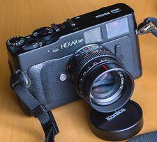 Konica HEXAR RF + Hexanon 50mm f/2, TOP-Zustand 99%Mint, Leica-M Bajonett