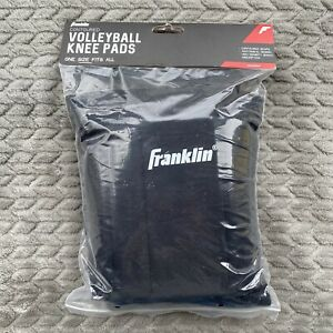 Franklin Volleyball Contoured Knee Pads Brand New in Package 1 Pair Black