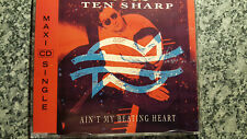 Ten Sharp / Ain't my Beating Heart - Maxi CD