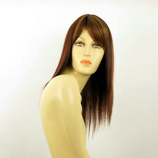 mid length wig brown copper wick light blond and red ref:RAPHAELLA 33H PERUK