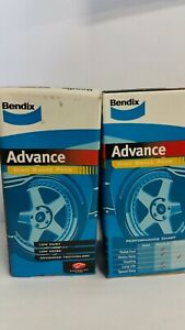 BENDIX BRAKE PADS FOR TOYOTA CAMRY 1987 to 1993 SV21 SV22 VZV21 FRONT
