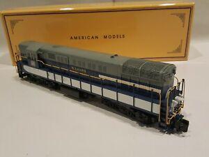 American Models S Gauge  Wabash Trainmaster TM10 Diesel Locomotive  LNIB