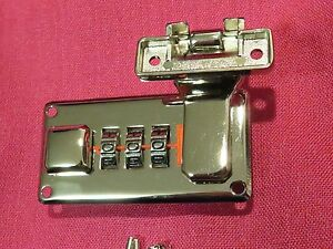 TKL SILVER case lock latch fits Gibson Les Paul es 335 SG Super 400 L5 PAF L 5 7