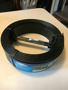 Suncast 20 Foot Flexscape Black Lawn Edging, includes 5 stakes