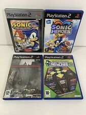 PS2 Retro Bundle Games x4 Sonic Heroes & Mega Collection Plus Midway Arcade 2