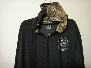 Realtree Genuine Camo Mens Full Zipper Hoodie Sweater Size XL