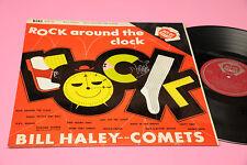 BILL HALEY LP ROCK AROUND THE CLOCK ITALY '60 MONO TOP RARE