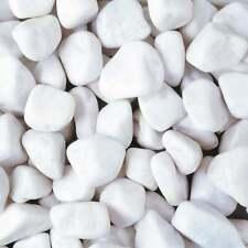 More details for 20-40mm angel white pebbles cobbles stone decorative aggregate polar lrs 20kg