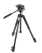 Manfrotto Mt190x3 Aluminum Tripod With Mhxpro-2w Fluid Head MFR # Mk190x3-2w