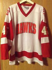 Vintage St. Joseph's University Hawks Mesh Hockey XL Jersey By Kobe Philadelphia