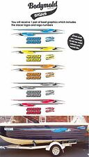 Stacer Decal Kit 2600mm long graphics