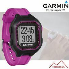 Garmin Forerunner 25 GPS Fitness Running Reloj - Pequeño, Negro/Morado