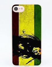 Jamaican Flag Country Rasta  iPhone 7 Plus Transparent Case