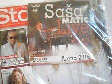 CD DVD FOLK ETHNO MUSIC SAŠA MATIĆ SASA MATIC Serbia magazine BELGRADE LIVE 2016