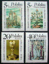 Mint Never Hinged/MNH 4 Number Polish Stamps