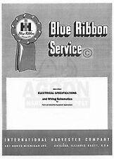 International Farmall 240 330 340 504 706 806 3414 2424 Wiring Service Manual IH