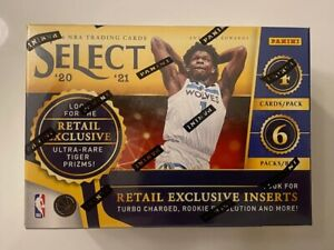 2021 Panini Select NBA Blaster Box, Retail, NEW, Factory Sealed  Free Shipping