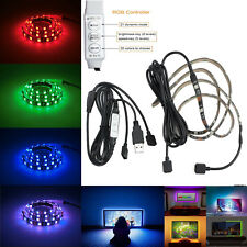 2pcs 50cm RGB LED STRIP TV Backlight USB Colour Changing Lighting Kit Adjustable