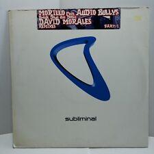 "Erick MorilloBreak Down The Doors David Morales Mixes Part 1 12"" Vinyl House"