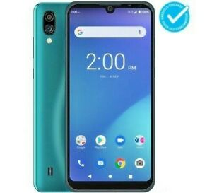 TELSTRA ESSENTIAL PRO 2 4GX BLUE TICK DARK GREEN ANDROID MOBILE PHONE
