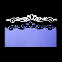 Card Lace Metal Cutting Dies Stencils for Scrapbooking  Craft Embossing Decor bq