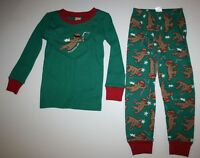790834cc4141 NWT Gymboree HOOTIN  HOLIDAY 2014 Red Christmas Owl Pajamas Gymmies ...