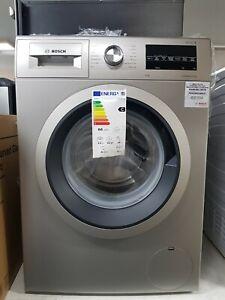 New Unboxed BOSCH Serie 6 WAU28TS1GB 9 kg 1400 Spin Washing Machine -Silver Inox