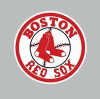 Boston Red Sox MLB Baseball Color Logo Sports Decal Sticker-FREE SHIPPING