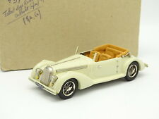 Ma Collection Résine 1/43 - Talbot Lago Record Cabriolet Ouvert 1938 Blanche