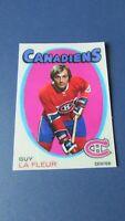 GUY LAFLEUR    1971-72  CUSTOM ROOKIES TM  (Rose)  MONTREAL CANADIENS   10 / 10