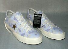 Converse 159704C ONE STAR OX Echt Leder Schuhe Sneaker 44,5 Blue Tint Gold Egret