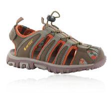 Hi-Tec Boys Cove Walking Shoes Sandals Green Sports Outdoors