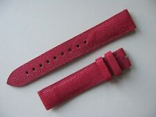 Brand New Zenith Red 15mm Stingray Strap No. 630 - VERY HARD TO SOURCE