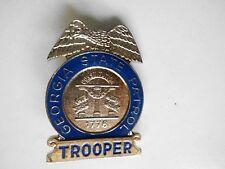 amerikanisches Polizeiabzeichen (Dienstmarke) Trooper GEORGIA STATE PATROL