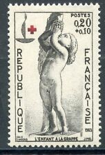 STAMP / TIMBRE FRANCE NEUF LUXE °° N° 1400 ** CROIX ROUGE
