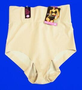 Bali #8403 Firm Control PowerShaper Hi-Waist Brief Panty~Nude~2XL